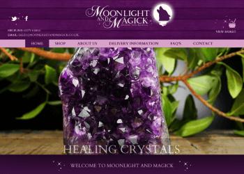 Moonlight & Magick eCommerce Website Design