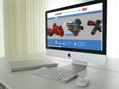 New Website for UK Carbody in Bristol