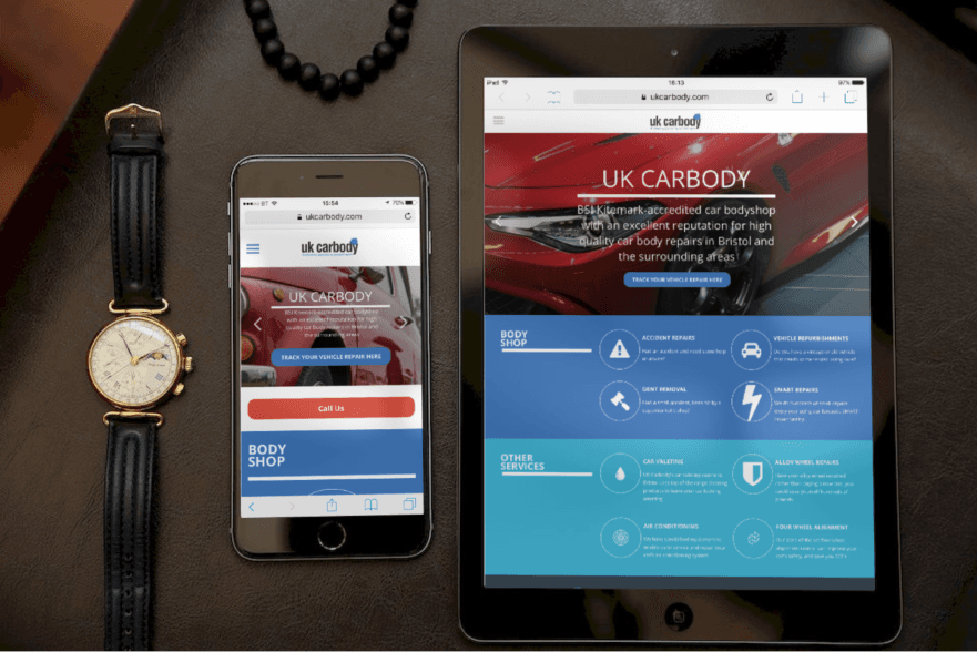 New Responsive Website for UK Carbody in Bristol