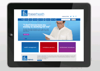 Website Design Portfolio | Fraser Heath Website Design & Build