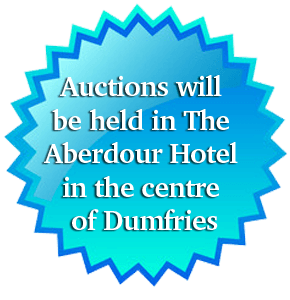 Auctions will be held in The Aberdour Hotel in the centre of Dumfries