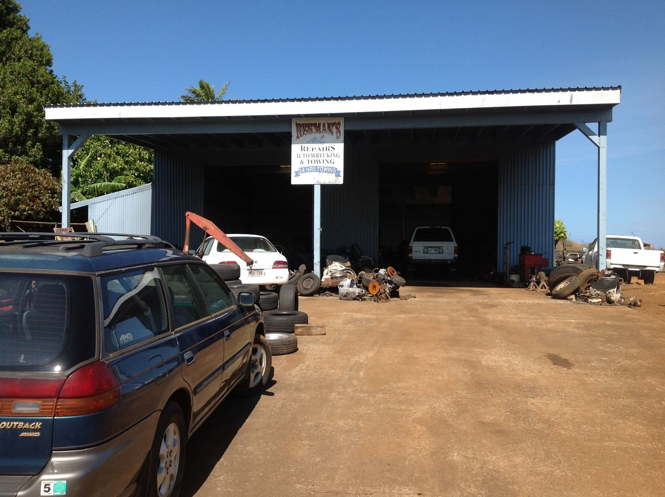 Our location for car parts in Haiku, HI