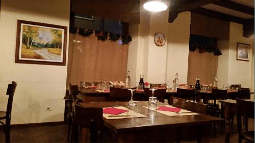 Vista del ristorante dal laterale