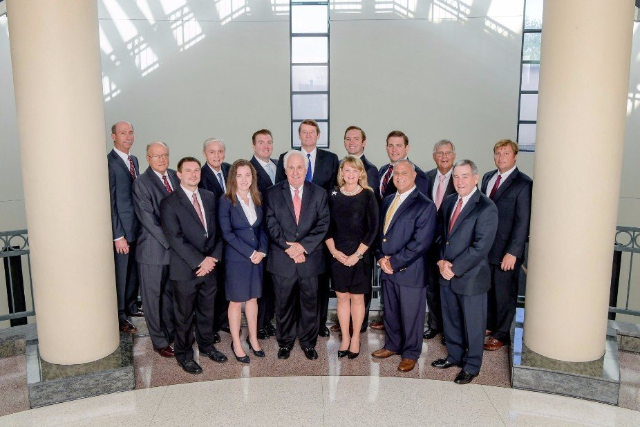 group photo of the attorneys from  Collins Brown Barkett Garavaglia & Law