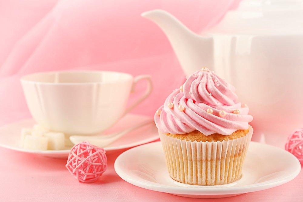 Te e Cupcake Madame bakery- Roma