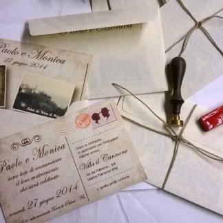 partecipazione nozze stampa digitale