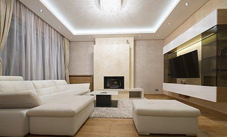 illuminazione di un soggiorno LED SYSTEM Pandino (CR)