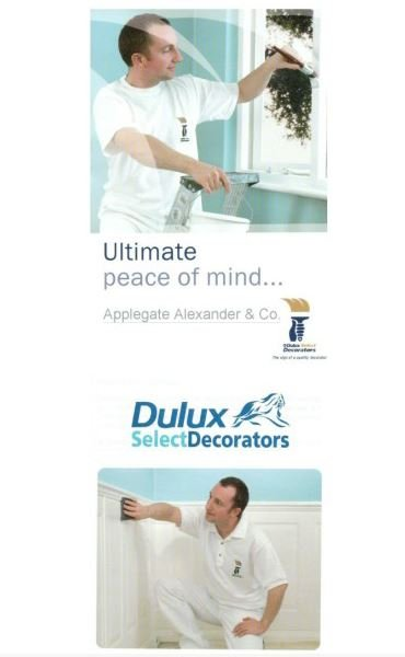 Dulux Select Contractor Advert