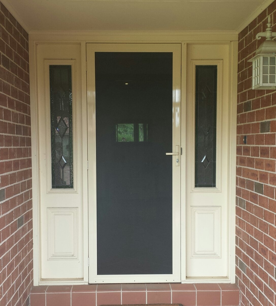 Custom entry door