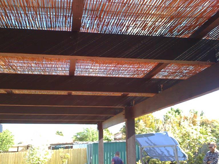 carli construction wired sun shade