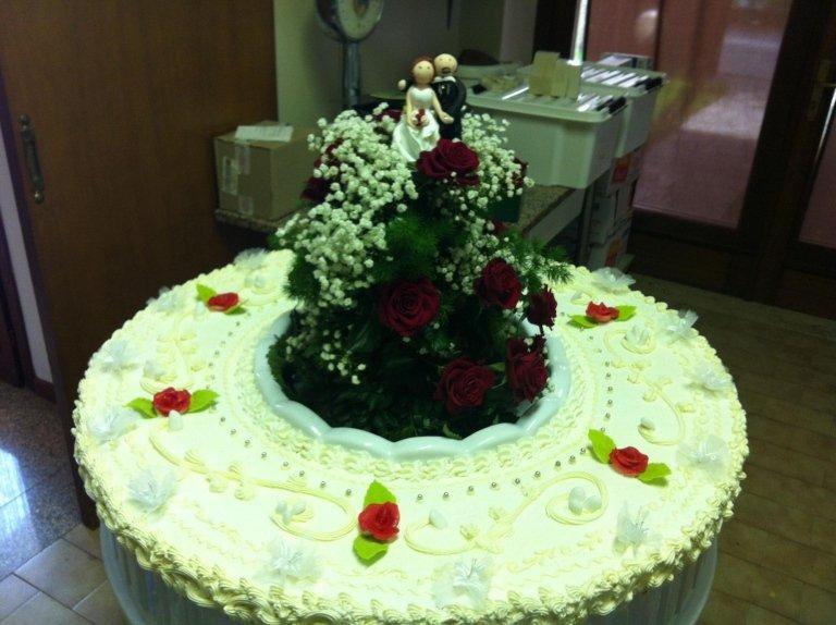 torta elaborata per cerimonia
