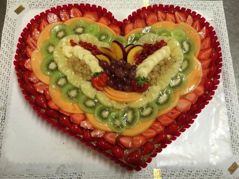 torta alla frutta da cerimonia