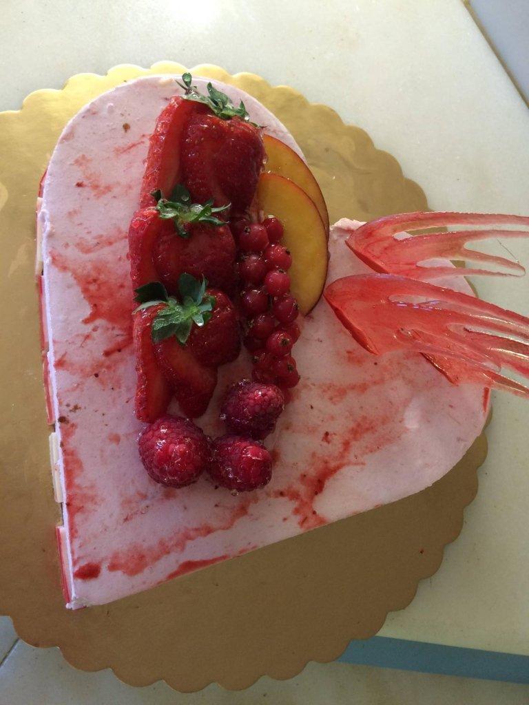 torta personalizzata alla frutta