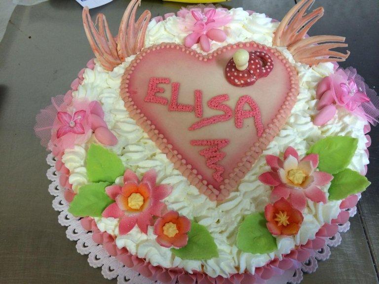 torta battesimo personalizzata