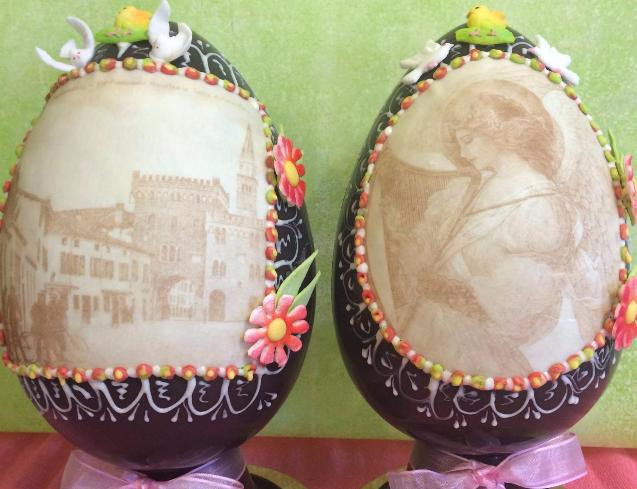 uova personalizzate di cioccolata