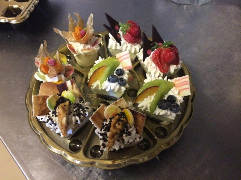bicchierini frutta mista
