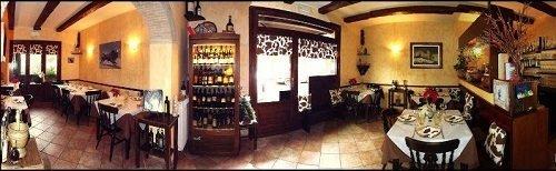 interno del ristorante L'Orto Del Chiti