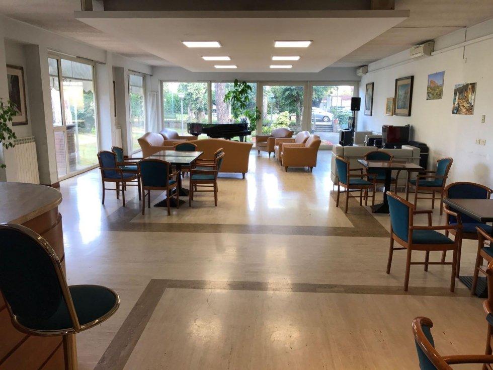 spazio comune della casa di riposo