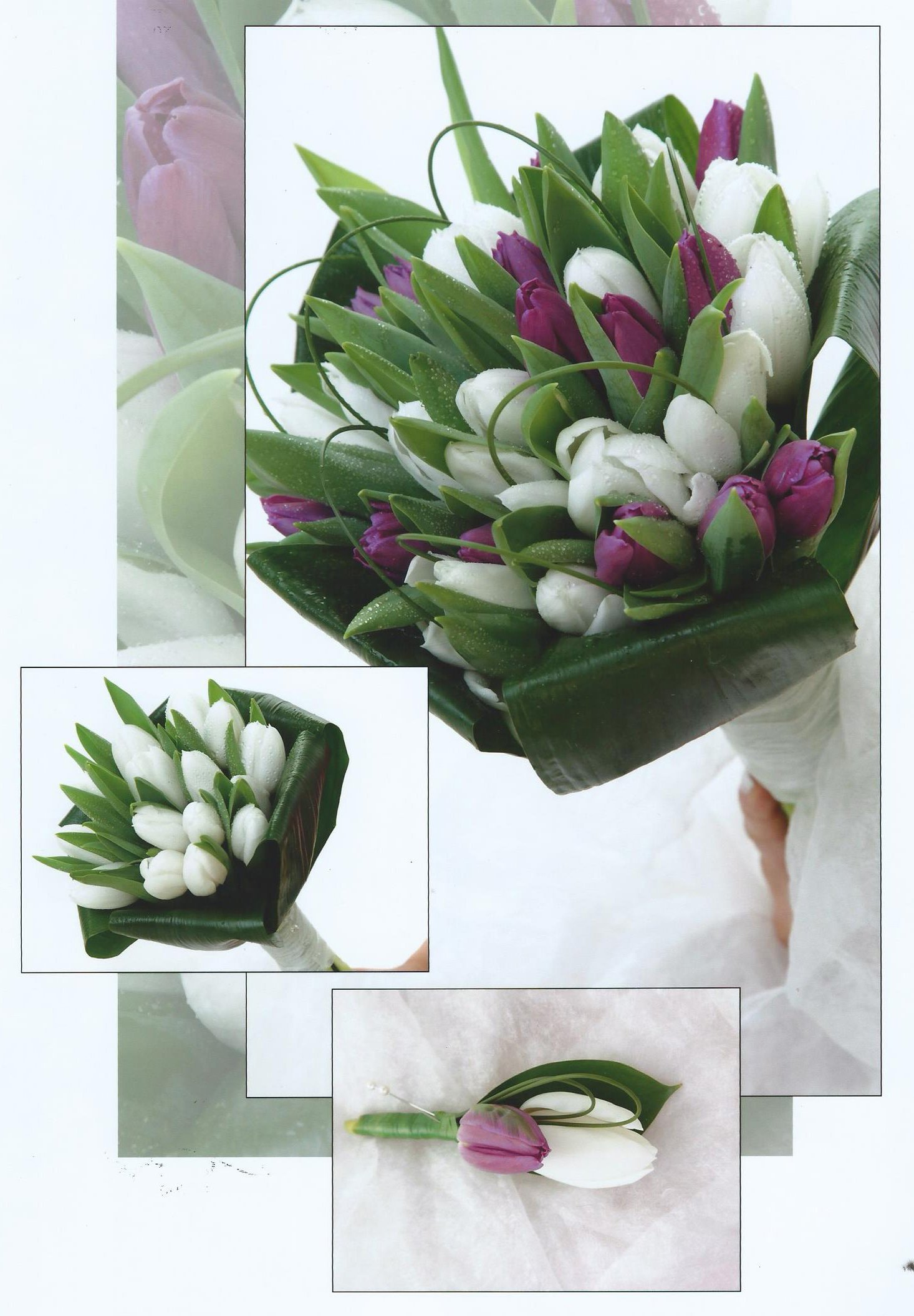Flower bud bouquets