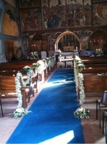 Allestimenti floreali navata