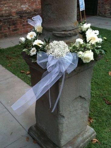 Addobbi floreali bianchi