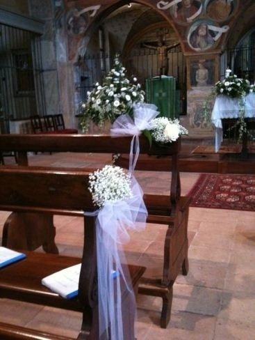 Addobbi cerimonia chiesa