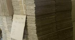 scatole in cartone ondulato