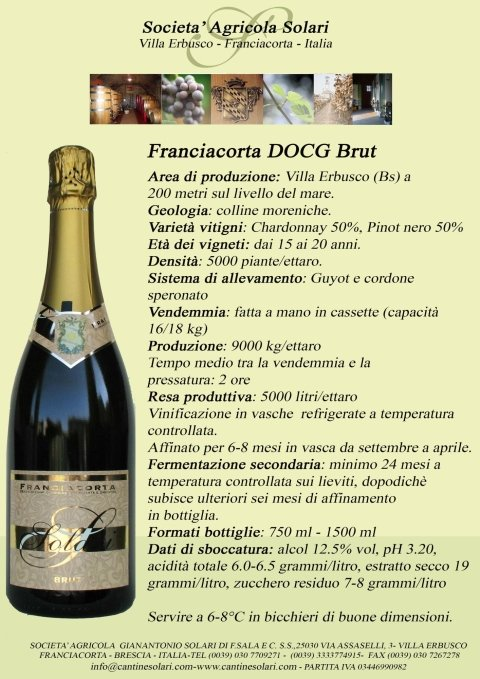 Franciacorta DOCG Brut