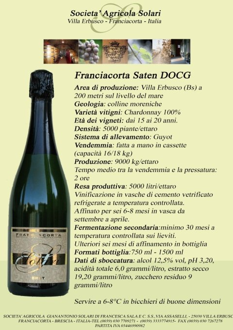 Franciacorta DOCG Saten
