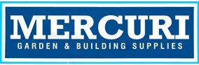 mercuri garden and building supplies buisness logo