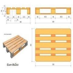 pallets in legno, euro pallets
