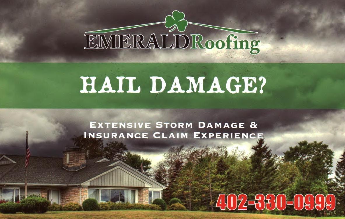 Hail Damage Repair in Omaha, NE