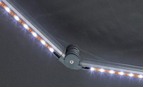 tende a bracci con led