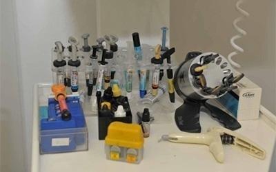 dell'attrezzatura dentistica