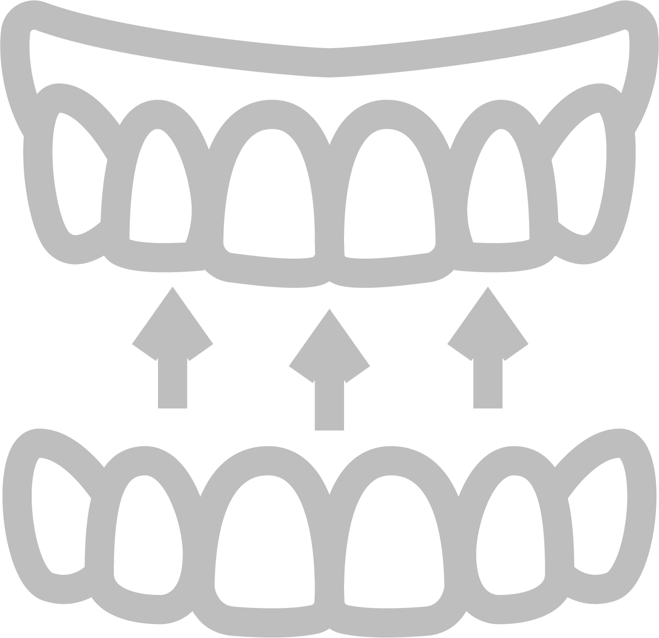 Icona dente curato
