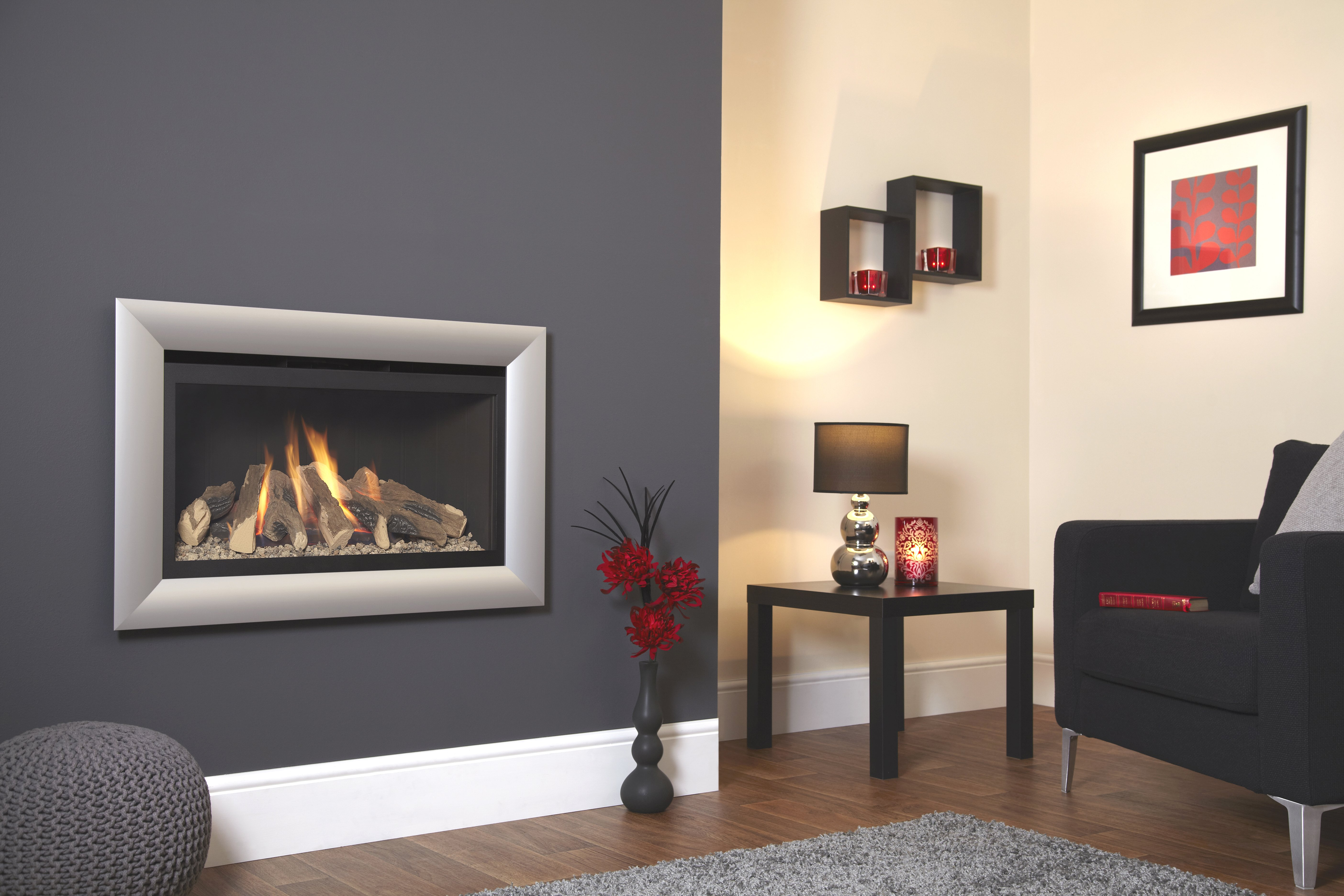 Flavel Rocco Hole in the Wall Gas Fire