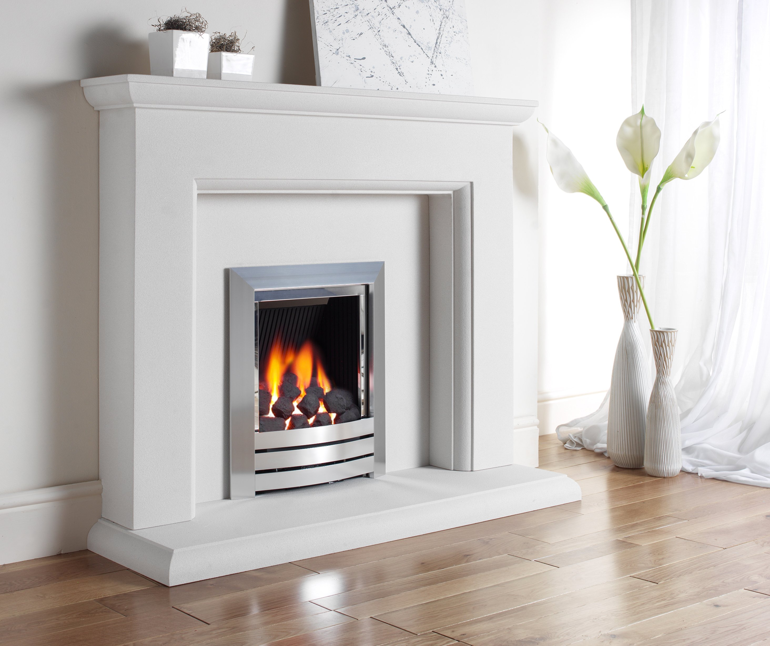 Kinder Camber Inset Gas Fire