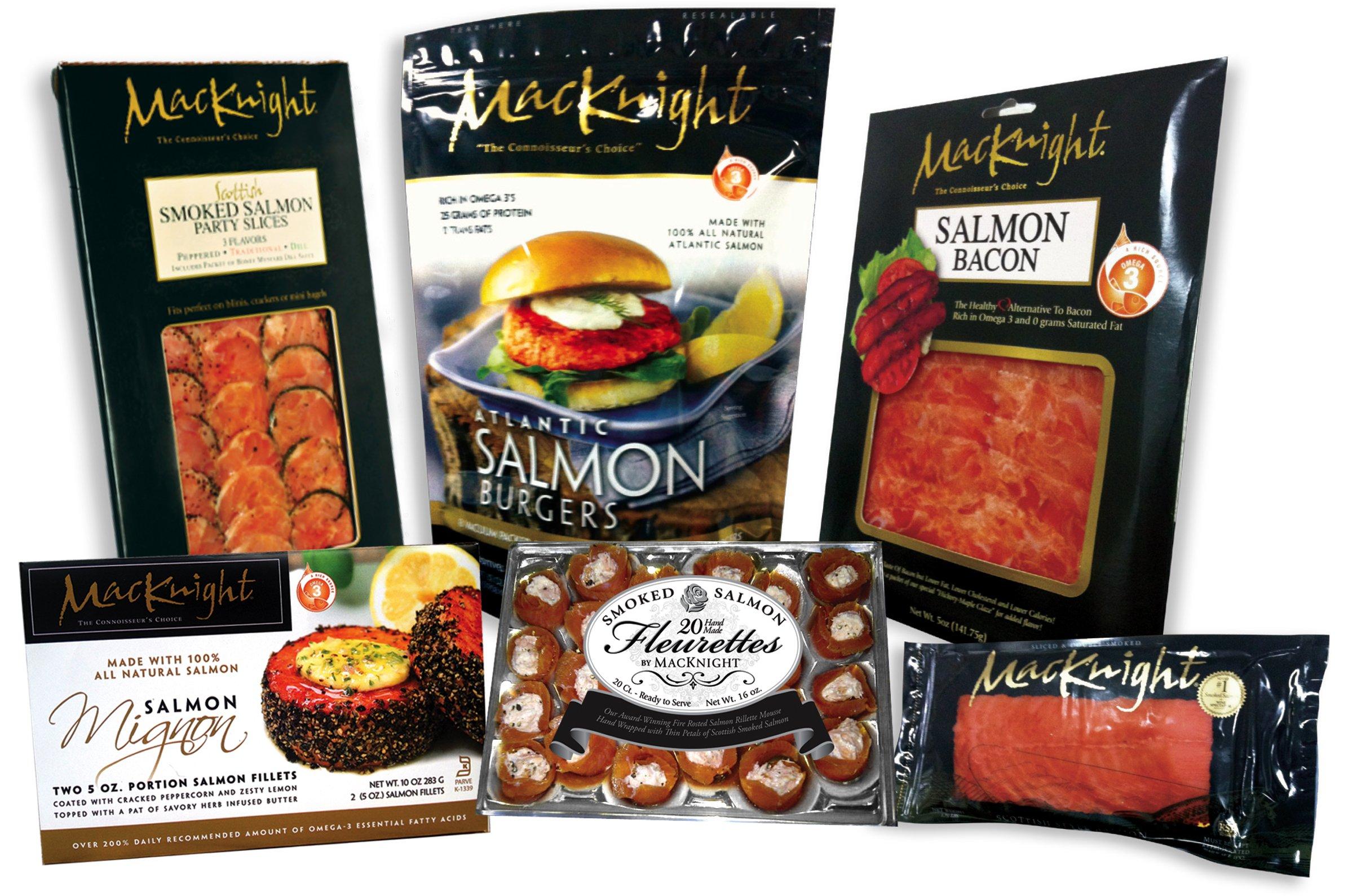 MacKnight Smoked Salmon Products