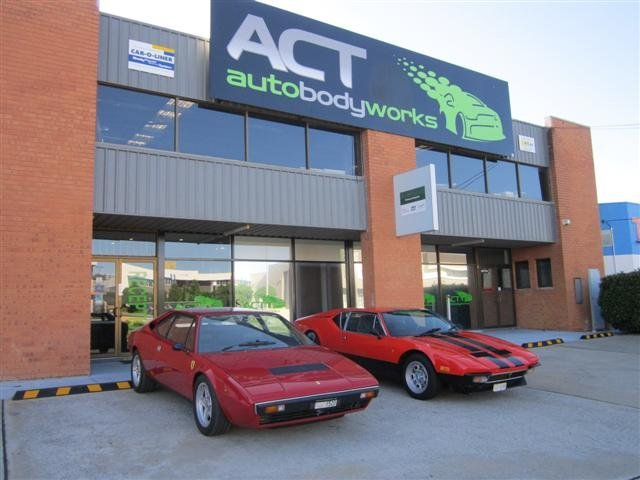 ACT Auto Detailing Body Works Ferraris