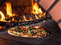 pizze con forno a legna