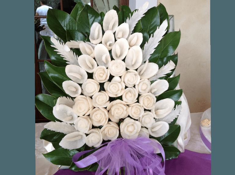 bouquet intagliato