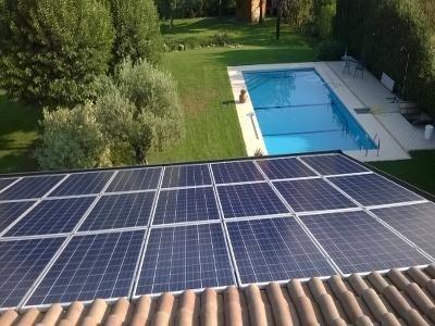 Impianto fotovoltaico da 6 kWp realizzato nel 2014