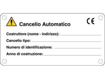 Installazione cancelli automatici a marchio CE