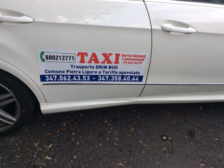 servizio ospedale, servizio taxi da e per aeroporti, taxi privati