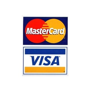 Pagamento Visa e Mastercard