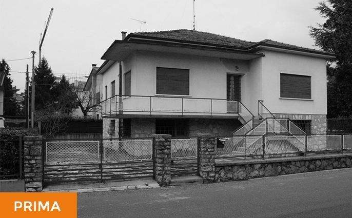 Ristrutturazione casa a Conegliano - Prima