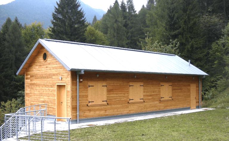 Ricovero parco Dolomiti