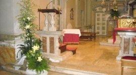 fiori per matrimoni, fiori per chiese, fiori