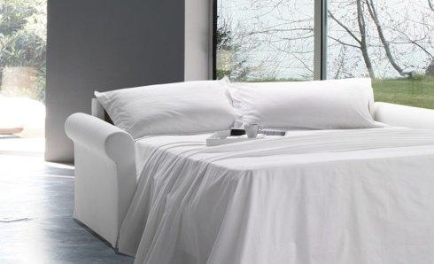 divano letto biba bianco