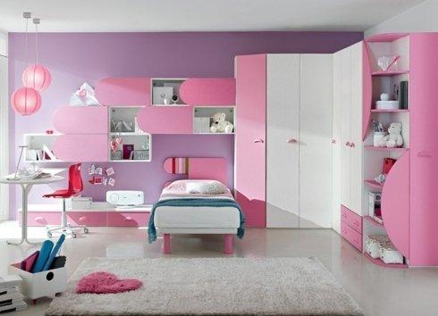 cameretta mab rosa bambina